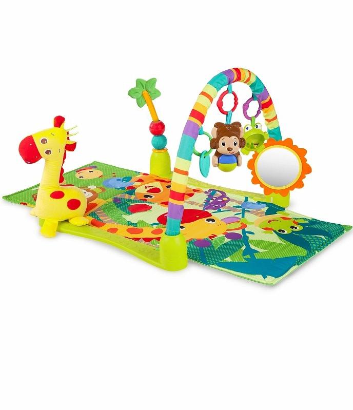 Развивающий коврик Bright Starts Джунгли от Toyway