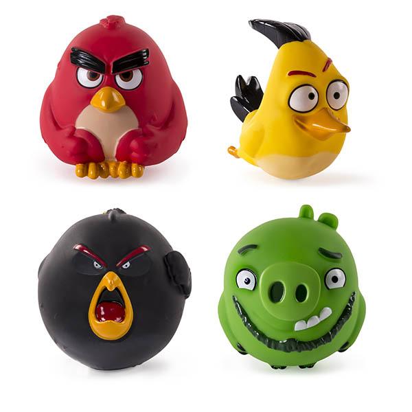 Игрушка из серии «Angry Birds» - сердитая птичка-шарик от Toyway