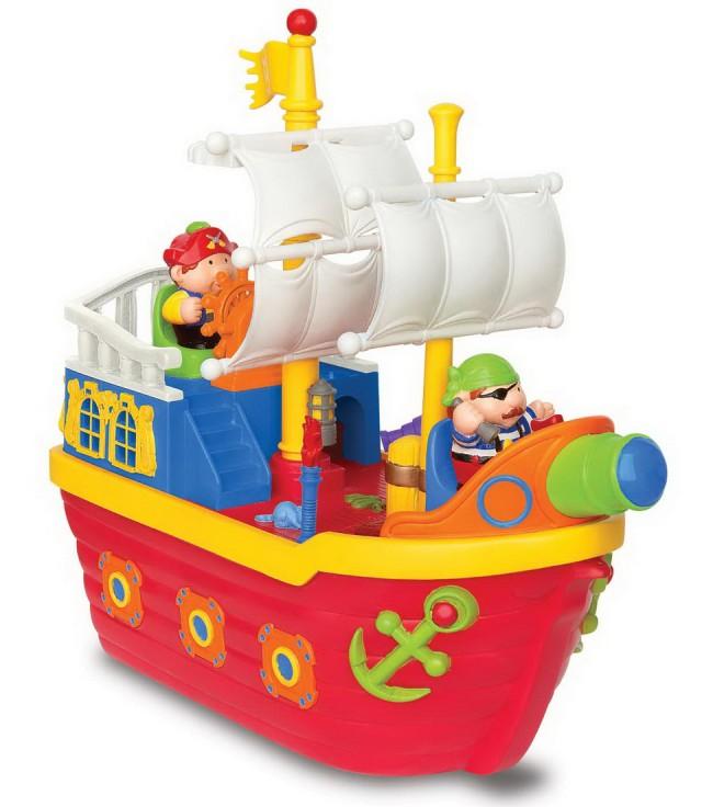 Купить Развивающий игровой центр «Пиратский корабль», Kiddieland