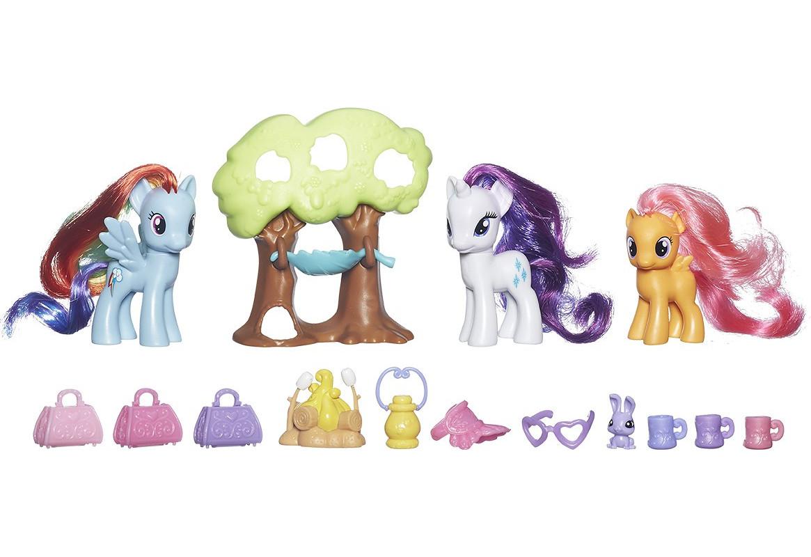 Игровой набор из серии «My Little Pony» - «Путешествие в кемпинг»Моя маленькая пони (My Little Pony)<br>Игровой набор из серии «My Little Pony» - «Путешествие в кемпинг»<br>