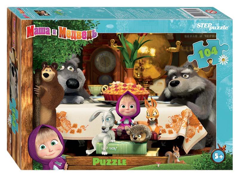 Купить Пазл – Маша и Медведь-2, 104 детали, Step Puzzle
