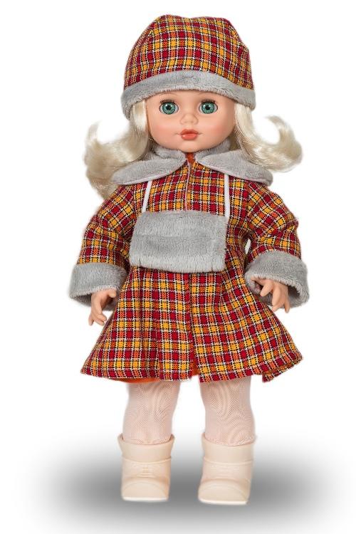 Кукла Инна 7 со звуковым устройством, 43 смРусские куклы фабрики Весна<br>Кукла Инна 7 со звуковым устройством, 43 см<br>