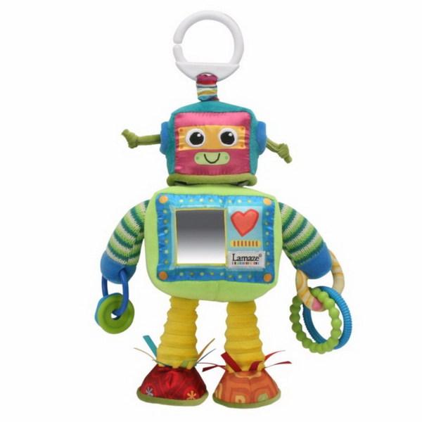 Подвесная игрушка – Робот РастиРазвивающая дуга. Игрушки на коляску и кроватку<br>Подвесная игрушка – Робот Расти<br>