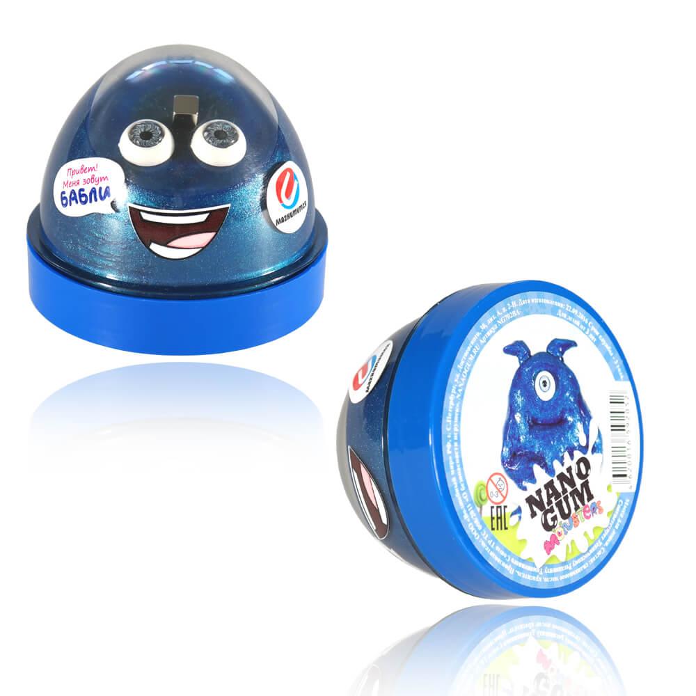 Жвачка для рук Nano gum - Бабли, 50 граммЖвачка для рук<br>Жвачка для рук Nano gum - Бабли, 50 грамм<br>