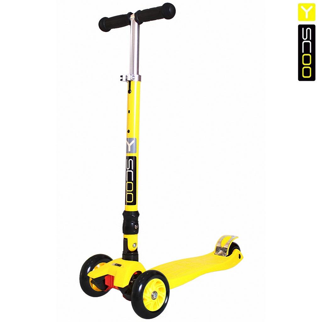 Купить Самокат Y-Scoo 35 Maxi Fix Simple, желтый
