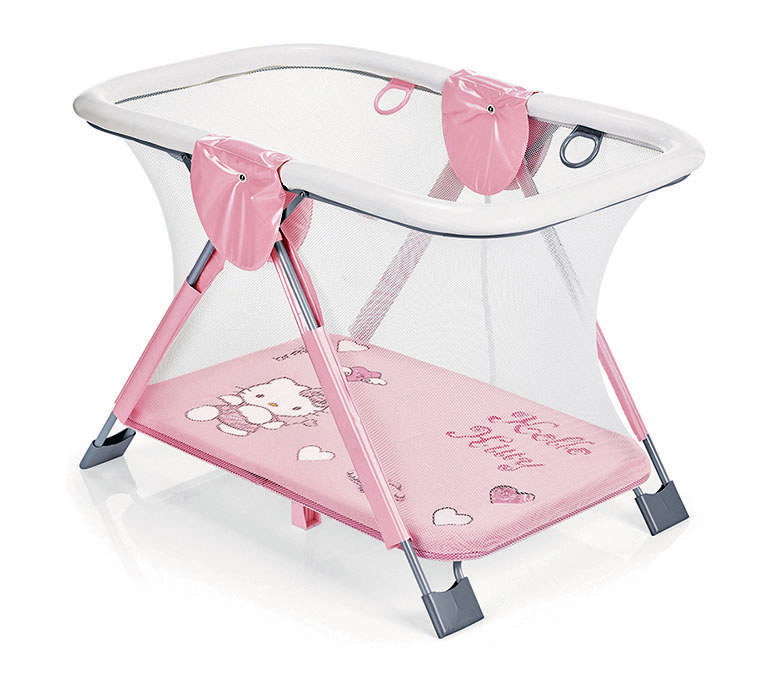 Манеж игровой Soft &amp; Play, Hello KittyМанежи Brevi<br>Манеж игровой Soft &amp; Play, Hello Kitty<br>