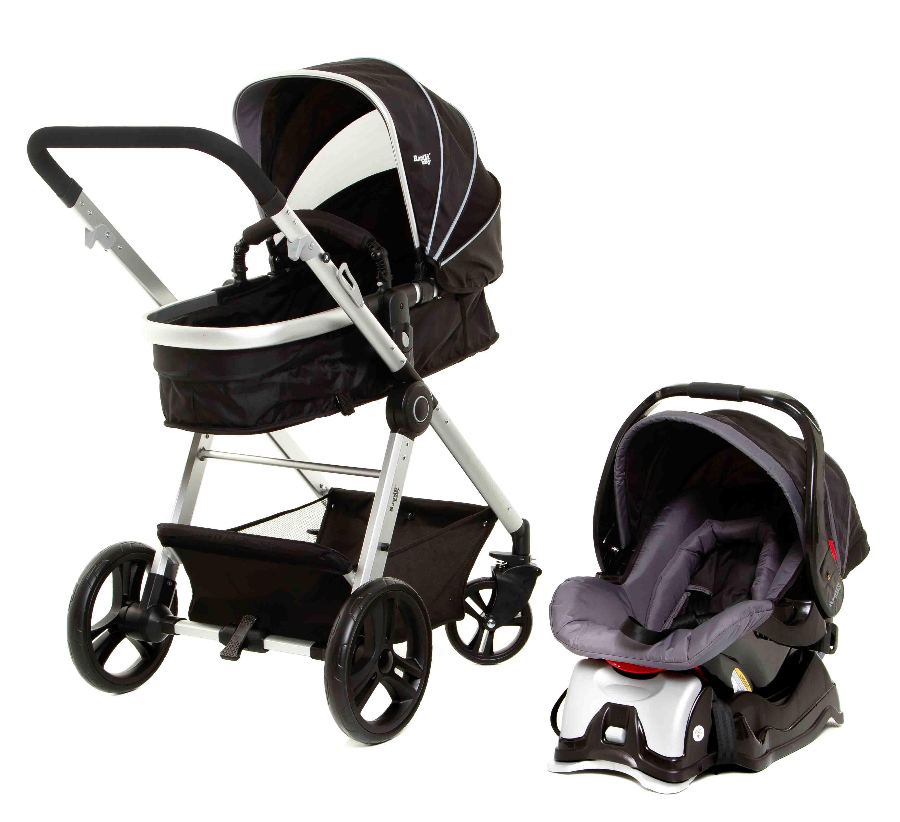 Купить Детская коляска 3 в 1 – Ramili Baby Lite TS