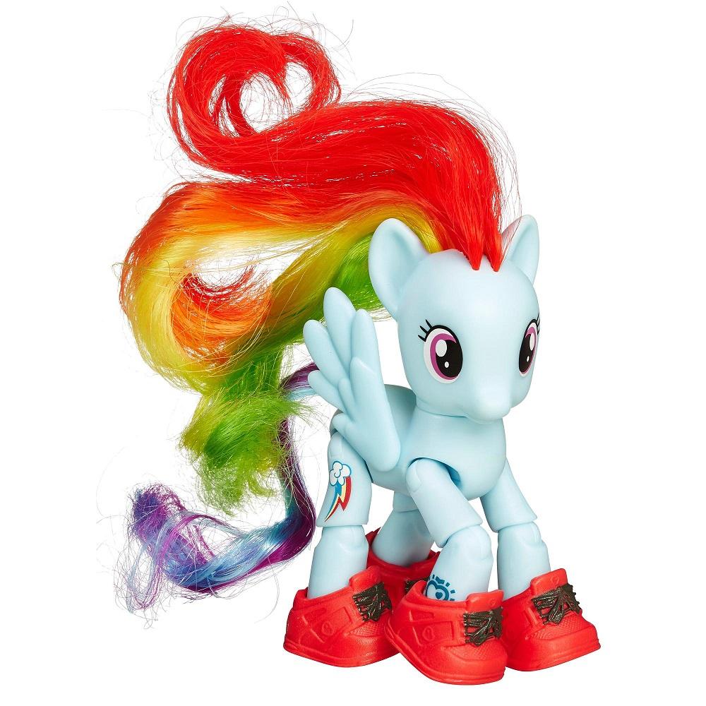 Мини-набор из серии My Little Pony – Рейнбоу Дэш с артикуляцией - Моя маленькая пони (My Little Pony), артикул: 165326