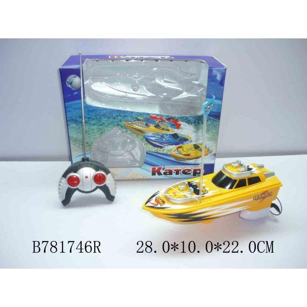 Катер на радиоуправлении со светомКатера, лодки и корабли на радиоуправлении<br>Катер на радиоуправлении со светом<br>
