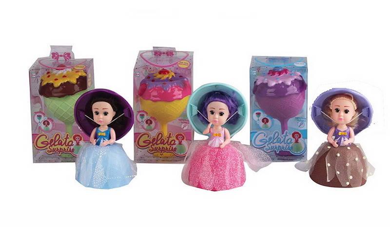 Кукла-кекс Cupcake Jelato, 3 вида, JUNFA TOYS  - купить со скидкой