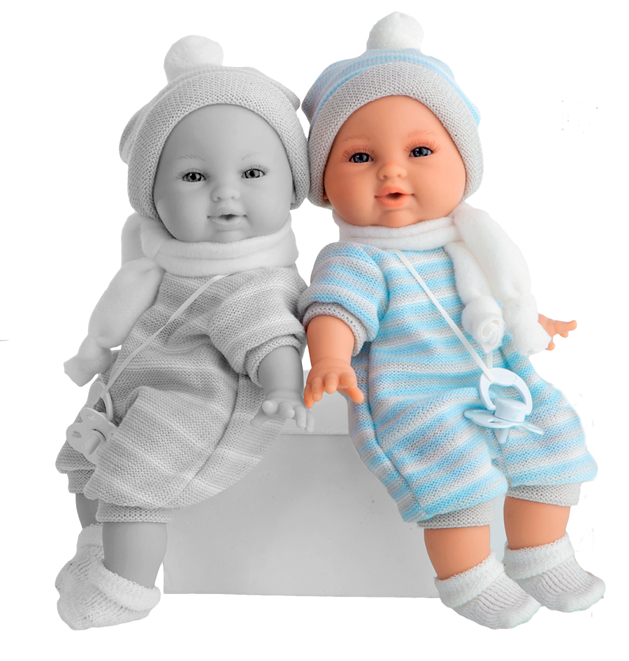 Кукла Antonio Juan Нано в голубом костюмчике 30 см от Toyway