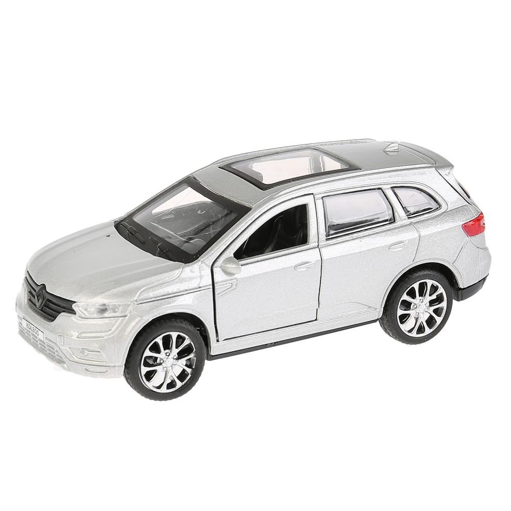 Купить Машина металлическая инерционная Renault Koleos, 12 см, открываются двери, цвет серебристый, Технопарк