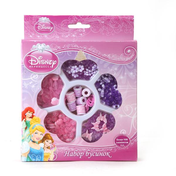 Купить Набор бусинок - Disney Принцессы, более 180 деталей, Multiart