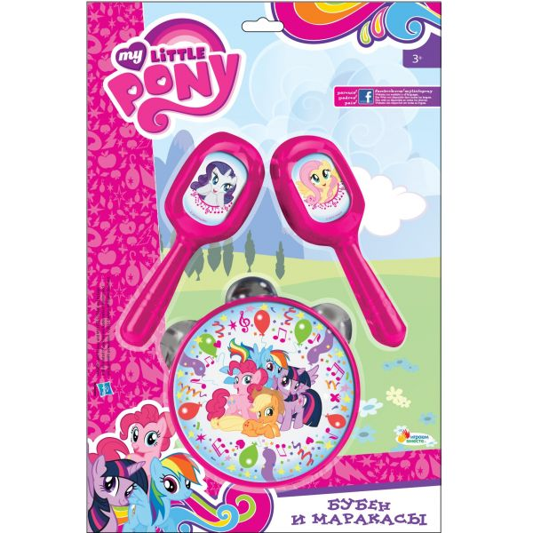 Купить Бубен и маракасы - My Little Pony, Играем вместе
