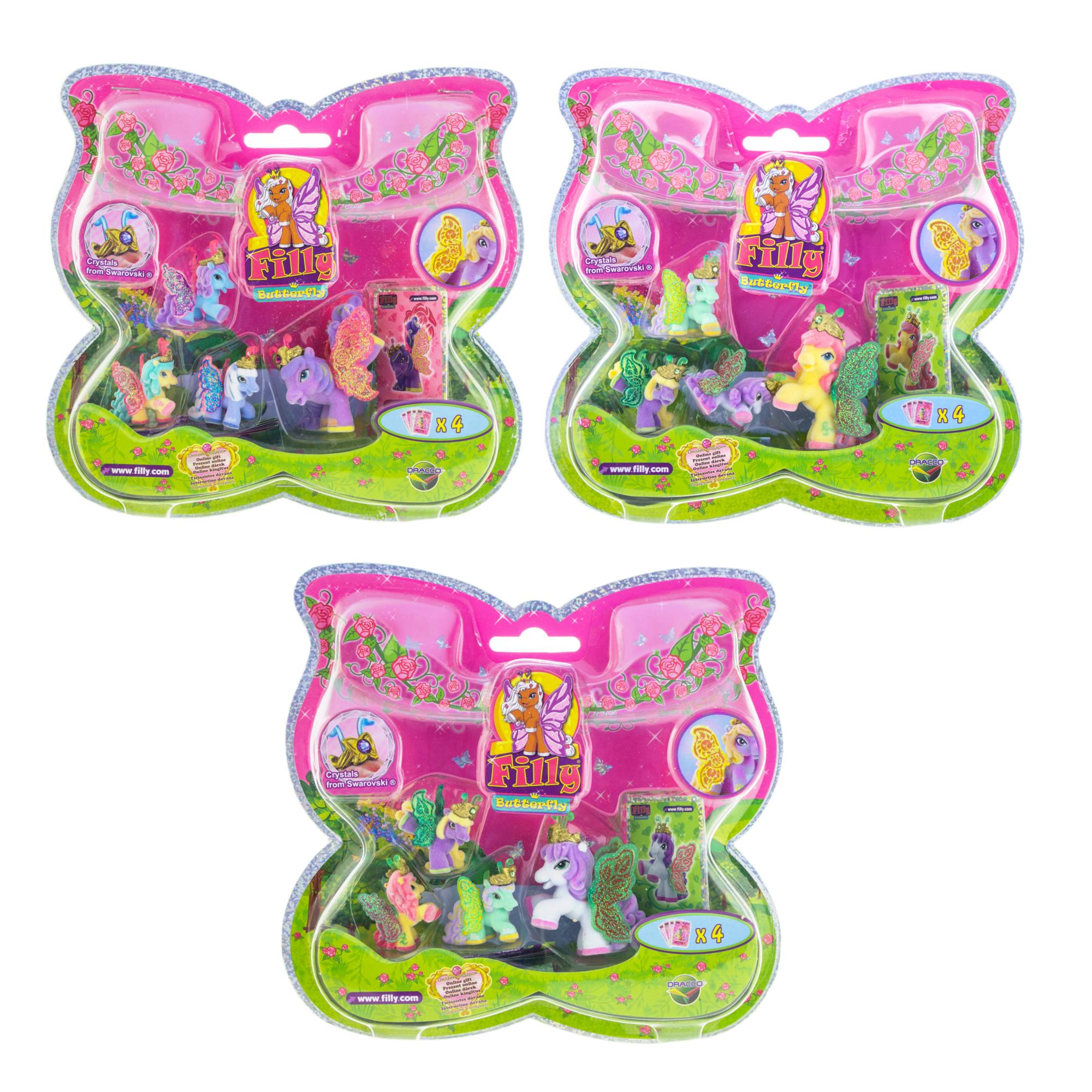 Набор игровой «Filly» - Бабочки с блестками «Волшебная семья»