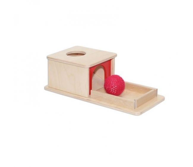 Развивающая коробочка с шарикомРазвивающие центры<br>Развивающая коробочка с шариком<br>