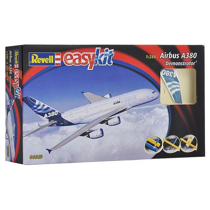 Сборная модель - Пассажирский самолет Airbus A380 - ДемонстрационныйМодели самолетов для склеивания<br>Сборная модель - Пассажирский самолет Airbus A380 - Демонстрационный<br>