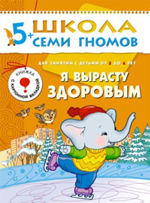 Книга из серии Школа Семи Гномов - Шестой год обучения. Я вырасту здоровымРазвивающие пособия и умные карточки<br>Книга из серии Школа Семи Гномов - Шестой год обучения. Я вырасту здоровым<br>