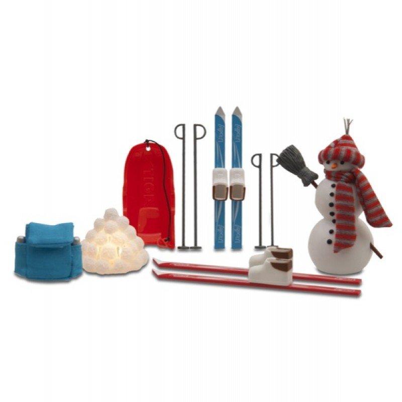 Купить Аксессуары для домика Смоланд - Зимний набор для отдыха, Lundby
