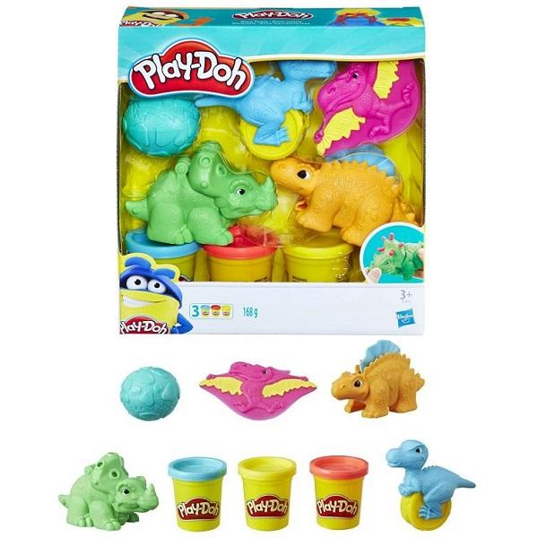 Набор игровой из серии Play-Doh Малыши-Динозаврики