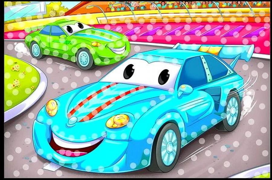 Мозаика из пайеток А4 - Гоночные Машинки по цене 148
