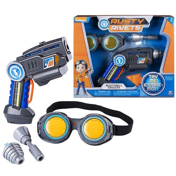 Купить Игрушка Rusty Rivets супер инструмент и очки Расти, Spin Master