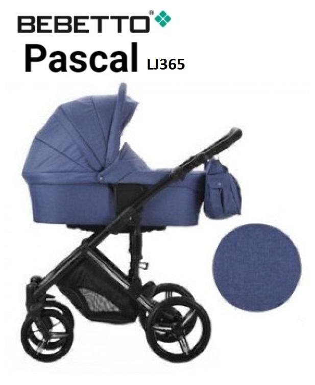 Детская коляска Bebetto Pascal 2 в 1 шасси черная/CZA LJ365Детские коляски 2 в 1<br>Детская коляска Bebetto Pascal 2 в 1 шасси черная/CZA LJ365<br>