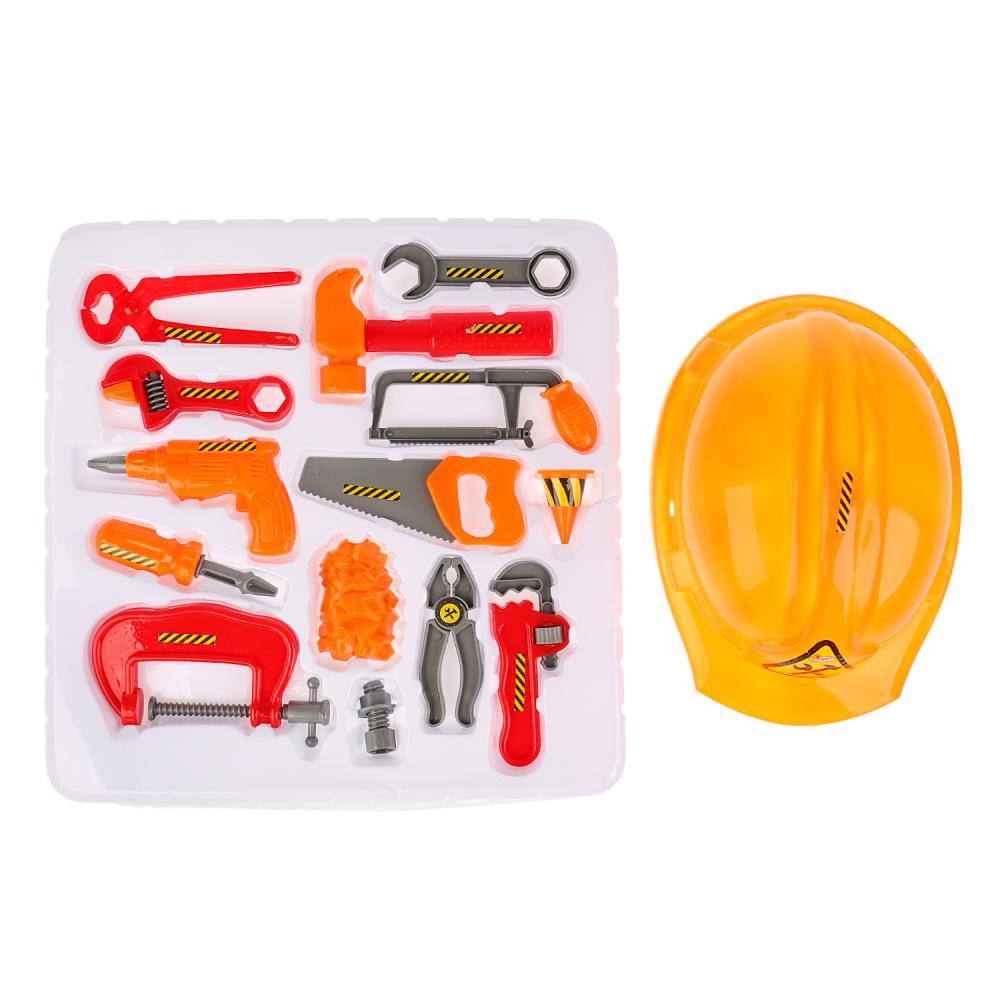 Купить Набор инструментов с каской, Играем вместе
