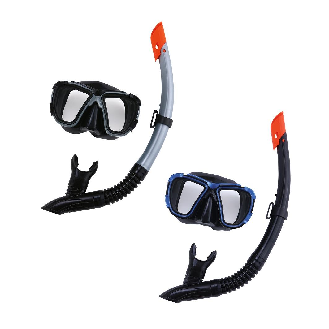Купить Набор для ныряния - Черное море, маска, трубка, 2 цвета, Bestway