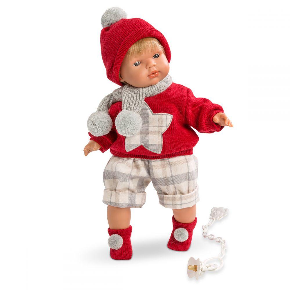 Кукла Саша 38 см, озвученнаяИспанские куклы Llorens Juan, S.L.<br>Кукла Саша 38 см, озвученная<br>