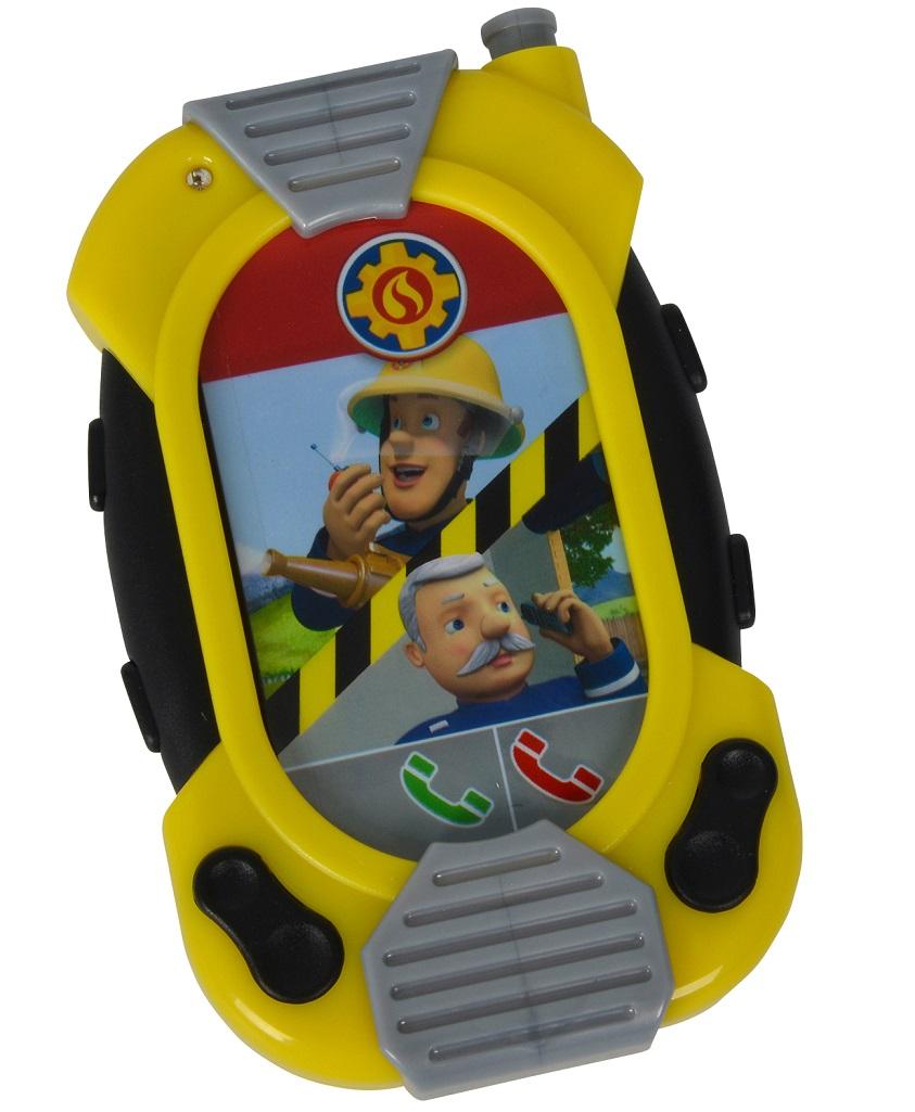 Игрушка Пожарный Сэм - Смартфон со звуком, 12 смПожарный СЭМ<br>Игрушка Пожарный Сэм - Смартфон со звуком, 12 см<br>