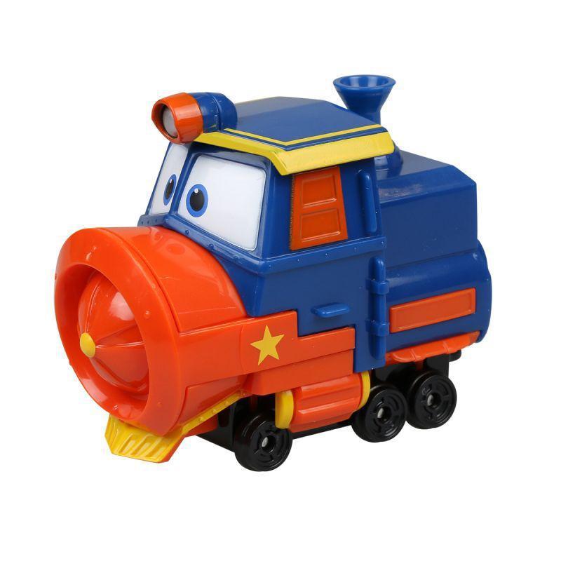 Паровозик Виктор из серии Роботы-поезда, в блистереЖелезная дорога для малышей<br>Паровозик Виктор из серии Роботы-поезда, в блистере<br>