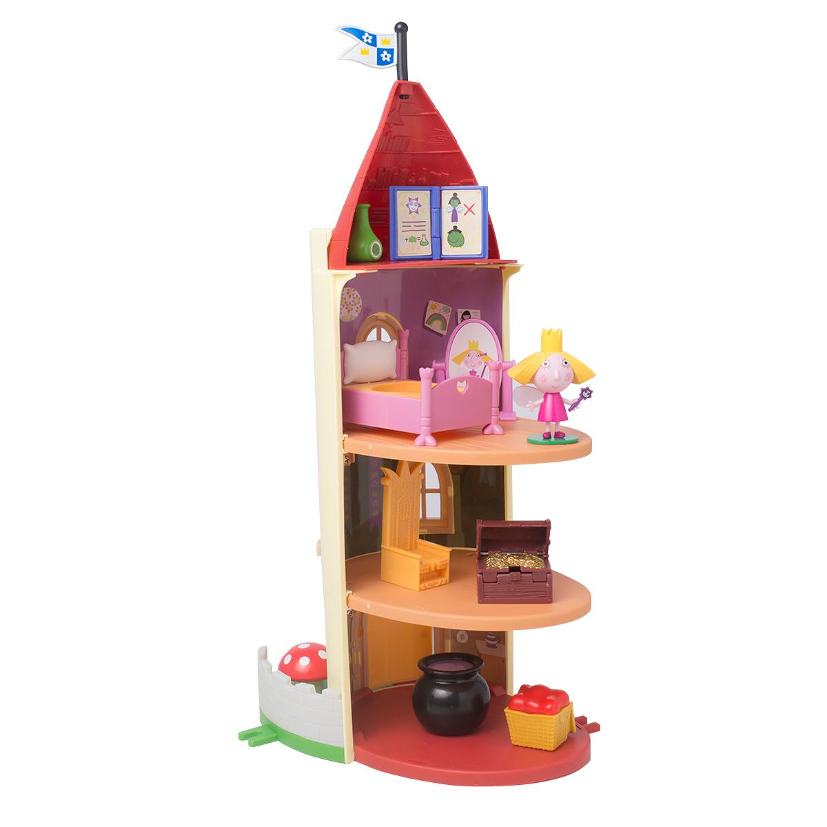 Игровой набор - Замок Холли ТМ B&amp;HМаленькое королевство Бена и Холли<br>Игровой набор - Замок Холли ТМ B&amp;H<br>