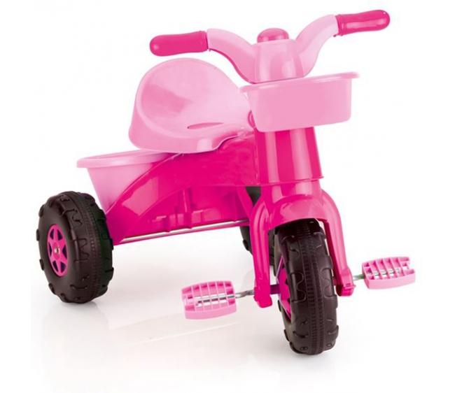 Мой первый велосипед, цвет – розовый