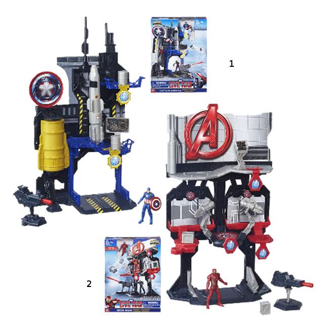 Игровой набор «Башня Мстителей»Avengers (Мстители)<br>Игровой набор «Башня Мстителей»<br>