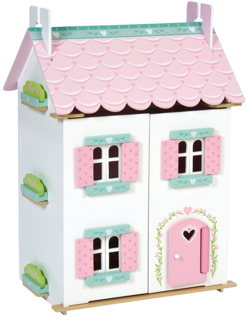 Детский игрушечный кукольный домик - Нежные сердечкиКукольные домики<br>Детский игрушечный кукольный домик - Нежные сердечки<br>