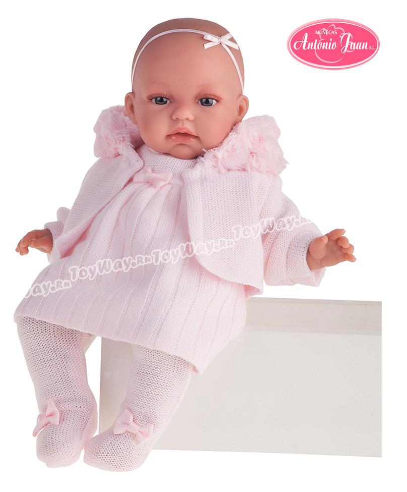 Кукла Стефания, озвученная, 34 см.Куклы Антонио Хуан (Antonio Juan Munecas)<br>Кукла Стефания, озвученная, 34 см.<br>