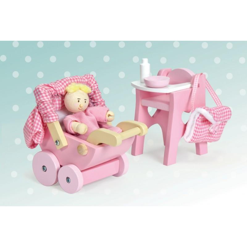 Игровой набор «Детская комната», 6 элементовКукольные домики<br>Игровой набор «Детская комната», 6 элементов<br>