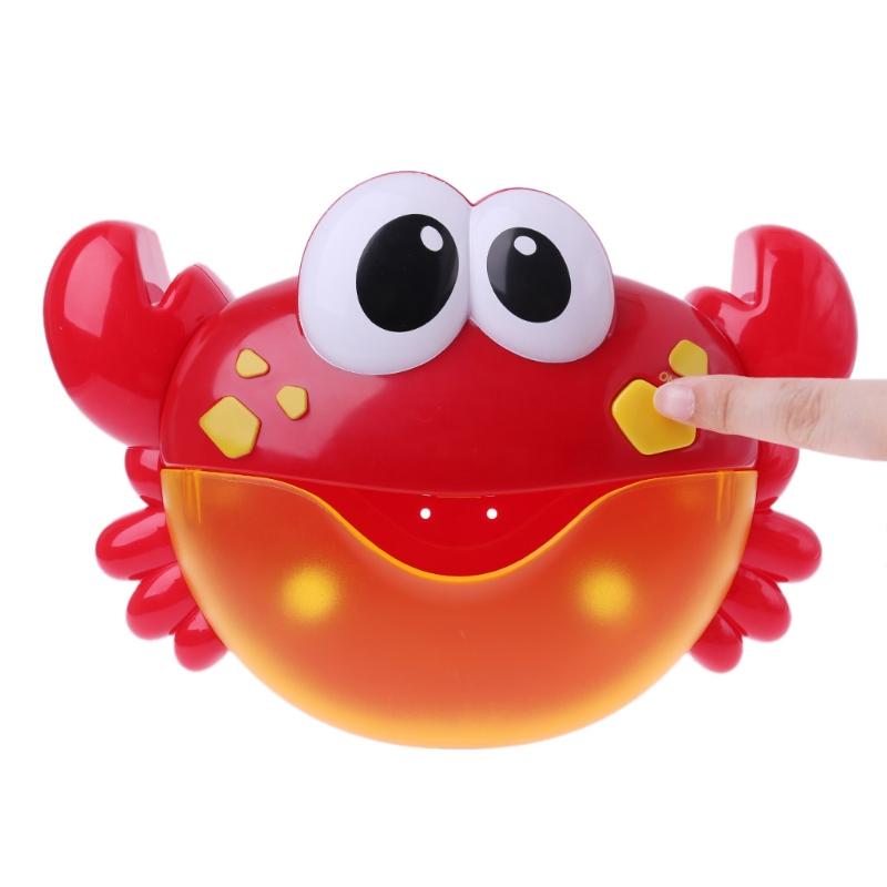 Купить Игрушка для ванной – Краб, свет и звук, JUNFA TOYS