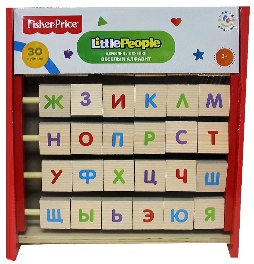 Купить Развивающие кубики. Веселый алфавит – перевертыш, Fisher Price