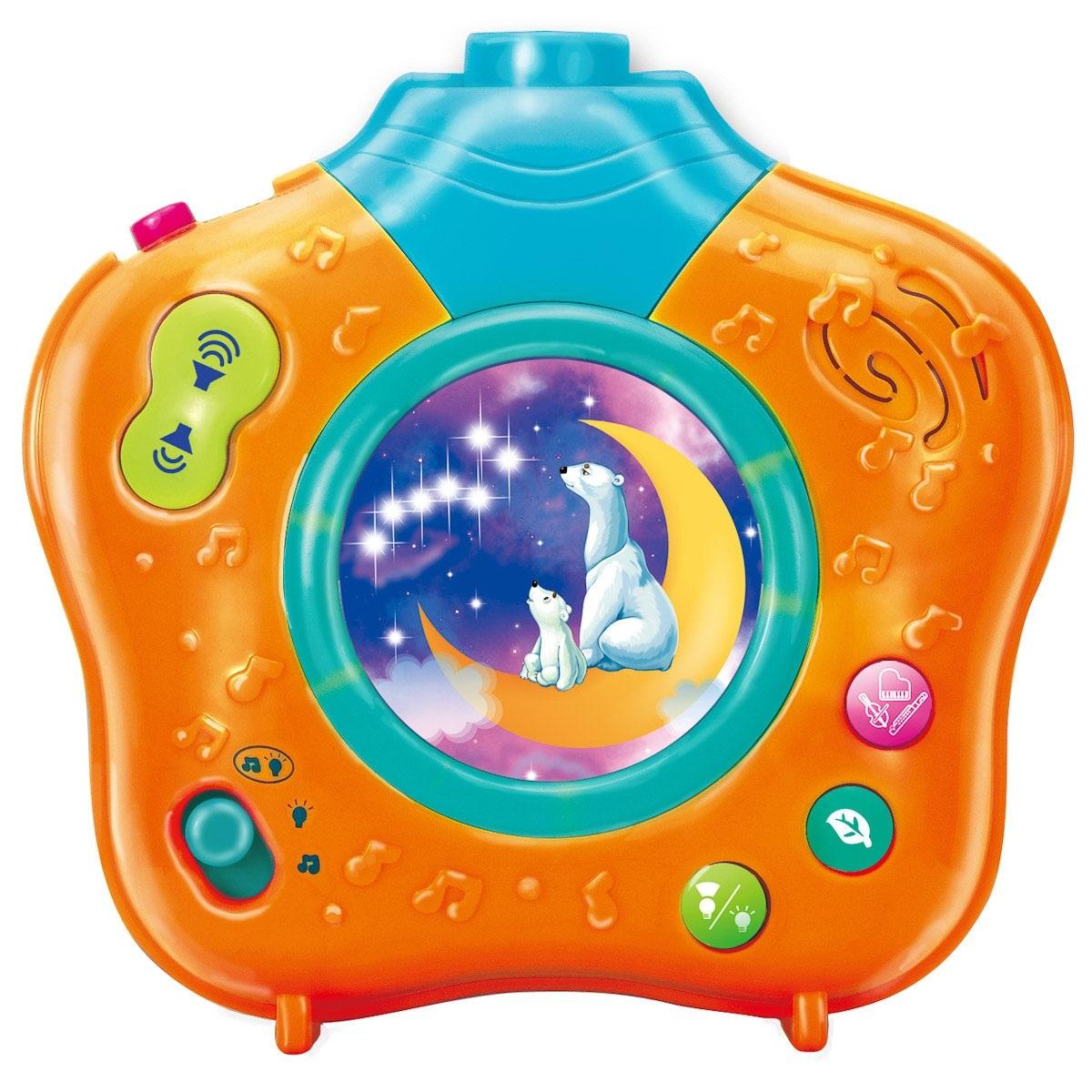 Музыкальный Ночник-проектор  Волшебный мир  - Музыкальные ночники и проекторы, артикул: 122472