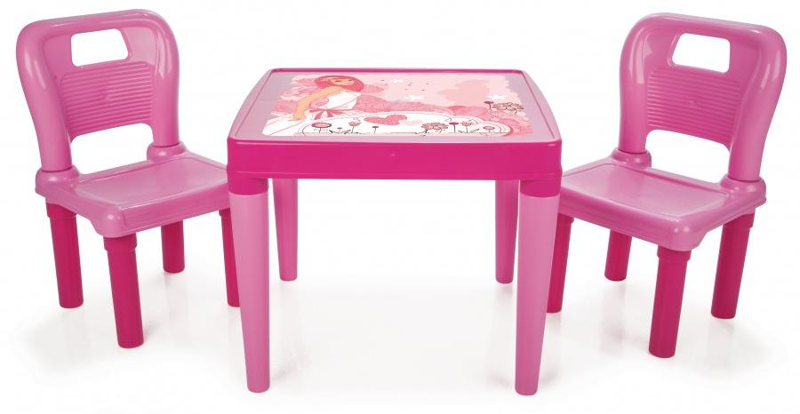 Столик с двумя стульчиками Menekse &amp; HobbyИгровые столы и стулья<br>Столик с двумя стульчиками Menekse &amp; Hobby<br>