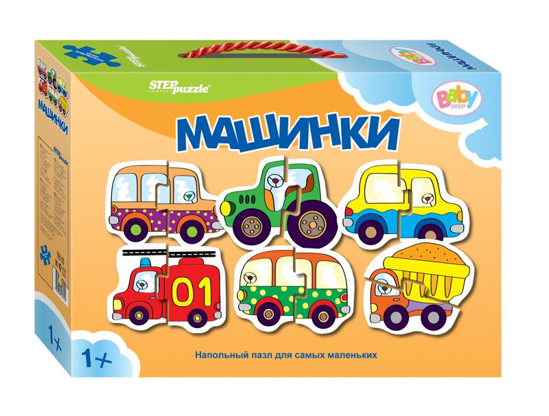 Напольный пазл – Машинки, малыеПазлы дл малышей<br>Напольный пазл – Машинки, малые<br>