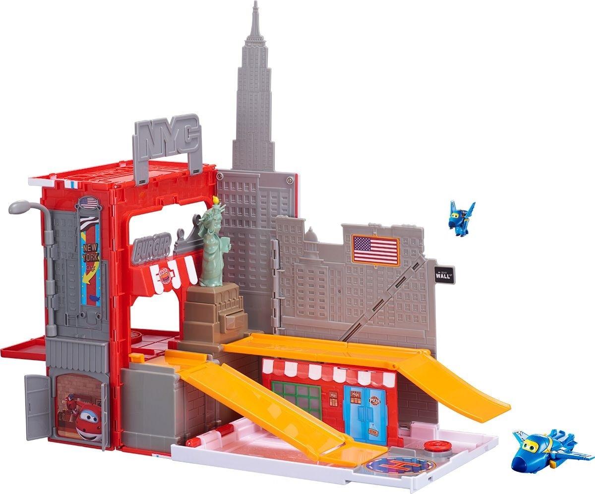 Игровой набор Джером в Нью-Йорке из серии Супер КрыльяСупер Крылья Super Wings<br>Игровой набор Джером в Нью-Йорке из серии Супер Крылья<br>