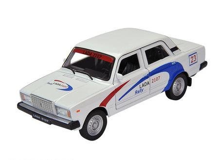 Игрушечная металлическая машина LADA 2107 «Rally» масштаб 1:34-39LADA<br>Игрушечная металлическая машина LADA 2107 «Rally» масштаб 1:34-39<br>