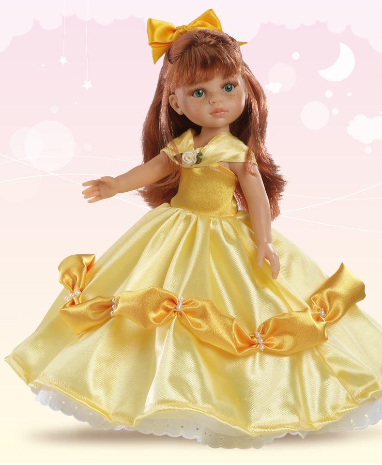 Кукла Кристи Принцесса, 32смИспанские куклы Paola Reina (Паола Рейна)<br>Кукла Кристи Принцесса, 32см<br>