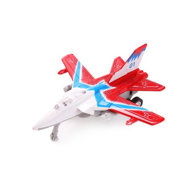 Металлический истребитель 11,5 см, свет, звукКоллекционные модели самолетов<br>Металлический истребитель 11,5 см, свет, звук<br>