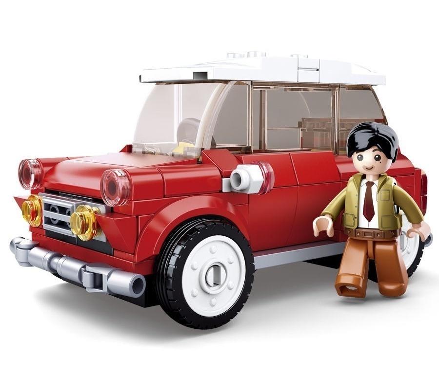 Конструктор – Машина с фигуркой 150 деталей.