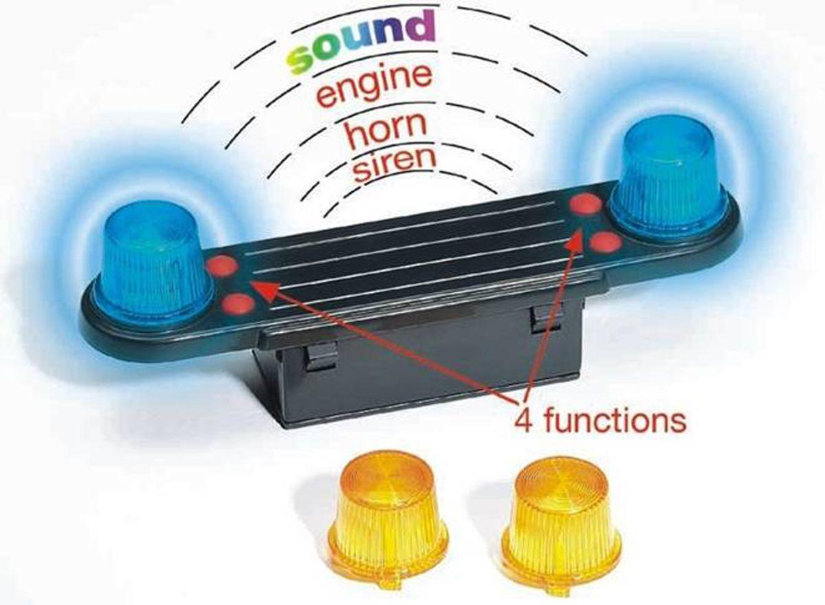 Модуль со световыми и звуковыми эффектами для автомобилей - Игрушки Bruder, артикул: 9150