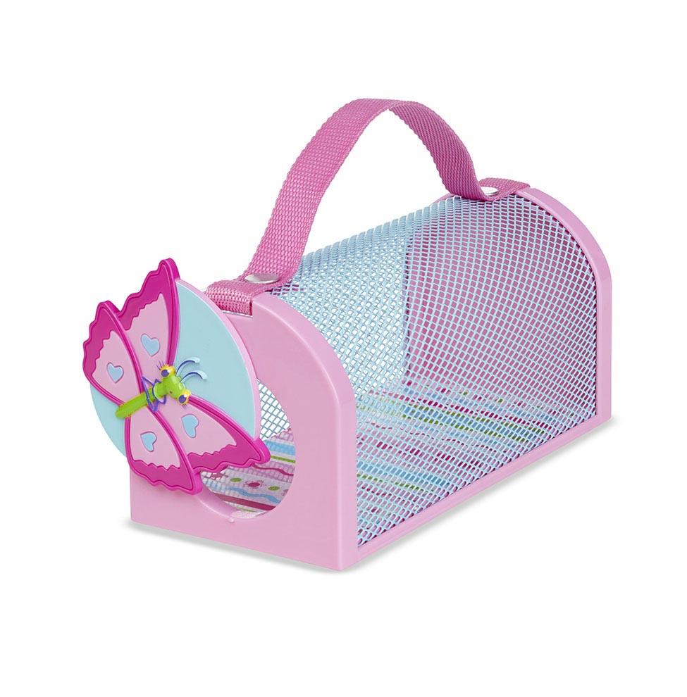 Купить Домик для насекомых Sunny Patch – Бабочка, розовый, Melissa&Doug